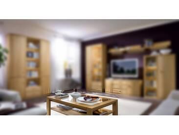 RMW Rietberger Möbelwerke Opus/Lando Couchtisch mit Klarglaseinlage 8396 Eiche sand 118 x 73 cm