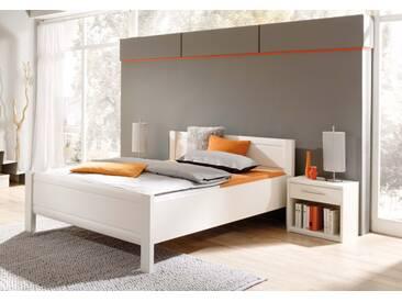 Priess Objekträume Komfortbett / Bett 6635.5125 lichtweiß 140x200 cm