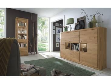 Wöstmann Aurum Highboard 3041 europ. Wildeiche soft gebürstet
