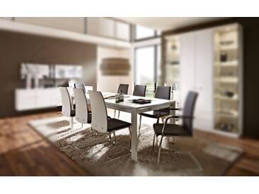 RMW Rietberger Möbelwerke Manhattan/Cremona Esstisch 8238 Lack weiß 198 x 95 cm