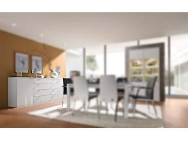RMW Rietberger Möbelwerke Celesta/Siena Sideboard 31663 Lack weiß