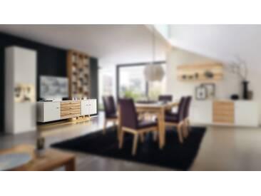 RMW Rietberger Möbelwerke Manhattan/Cremona Hängesideboard 21566 Lack weiß/Kernesche