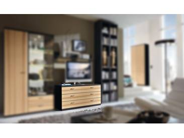 RMW Rietberger Möbelwerke Manhattan/Cremona Kommode TV-Board 21222 Lack braun/Kernesche