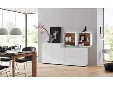 Wöstmann NW 440 Sideboard 3173 Lack bianco