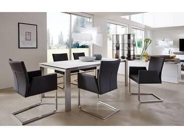 Wöstmann NW 660 Esstisch 3210.5 Tischplatte Mattglas bianco 200 x 95 cm