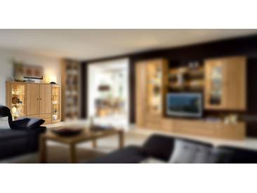 RMW Rietberger Möbelwerke Opus/Lando Vitrine Highboard 70074 Eiche sand