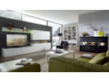 RMW Rietberger Möbelwerke Linaro/Enjoy Highboard 41015 Lack schwarz