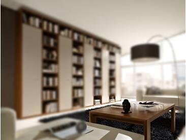 RMW Rietberger Möbelwerke Manhattan/Cremona Couchtisch 90638 Nussbaum nova 98 x 63 cm