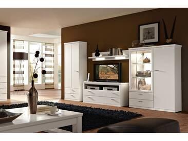 RMW Rietberger Möbelwerke Dacapo / Lexis Wohnwand 9982 Lack weiß