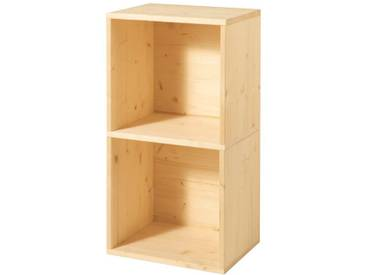 Regal DoppelBox (BxTxH): 40x31x75cm