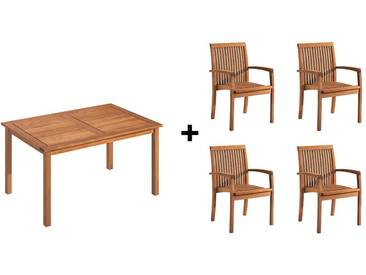 Gartenmöbel-Set Enya, 5-teilig