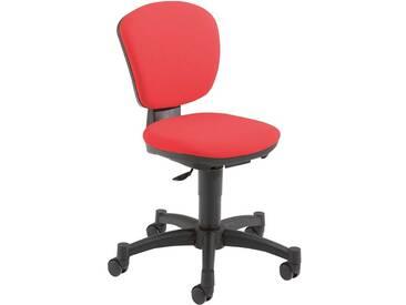 Schreibtischstuhl für Kinder und Jugendliche ergokid rot, Bezug 100 % Polypropylen