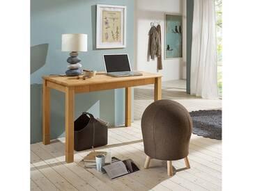 Schreibtisch aus massiver Buche 120 x 65 cm