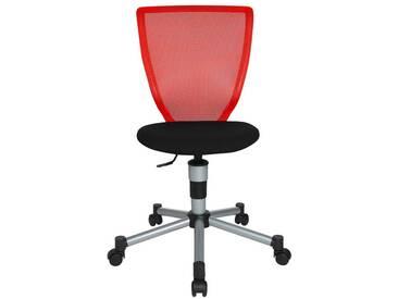 Schreibtischstuhl für Kinder und Jugendliche Titan Junior rot