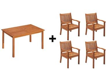 Gartenmöbel-Set Cansa 5-teilig