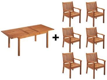 Gartenmöbel-Set Cansa 7-teilig