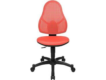 Schreibtischstuhl für Kinder und Jugendliche Open Art Junior rot