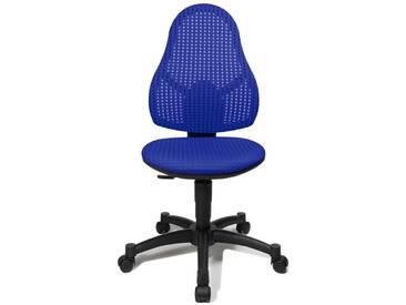 Schreibtischstuhl für Kinder und Jugendliche Open Art Junior blau