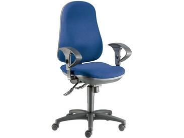 Bürodrehstuhl Support blau