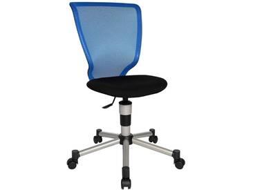 Schreibtischstuhl für Kinder und Jugendliche Titan Junior blau