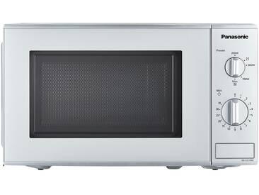 Panasonic Mikrowelle  NN-E221M - silber - Metall-lackiert, Kunststoff, Glas - 44,3 cm - 25,8 cm - 34 cm - Möbel-Kraft