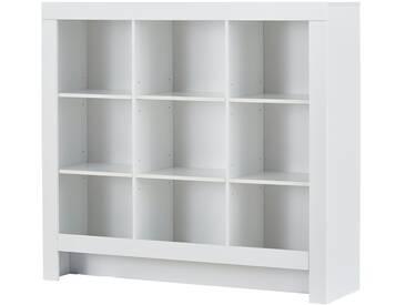 PAIDI Standregal  Fiona - weiß - 141,2 cm - 128,1 cm - 39,3 cm - Möbel-Kraft