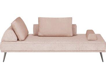 SOHO Tagesliege  Alexa - rosa/pink - 202 cm - 80 cm - 102 cm - Möbel-Kraft