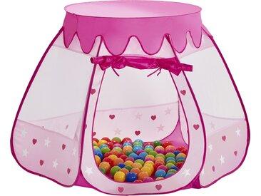 Spielzelt  Prinzessinnen Palast - rosa/pink - Polyester - 90 cm - Möbel-Kraft