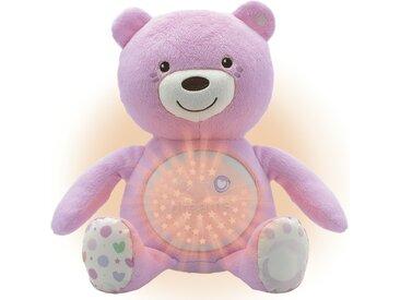 Chicco Nachtlicht  Musikalischer Baby Bär - rosa/pink - 100% Polyester - 36,5 cm - 14 cm - Möbel-Kraft