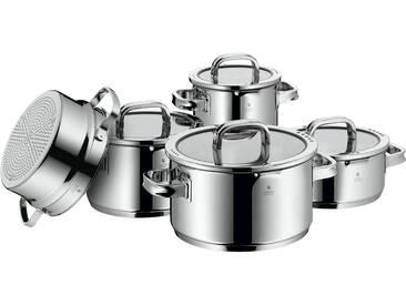 WMF Topfset 5-teilig - silber - Silikon, Edelstahl - Möbel-Kraft