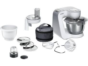 BOSCH Küchenmaschine  MUM 58235 - weiß - Edelstahl, Kunststoff - 28 cm - 28,2 cm - 27,1 cm - Möbel-Kraft