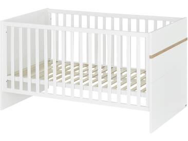 Roba Kinderbett - weiß - 76 cm - 81 cm - 142,5 cm - Möbel-Kraft