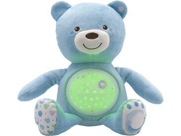 Chicco Nachtlicht  Musikalischer Baby Bär - blau - 100% Polyester - 36,5 cm - 14 cm - Möbel-Kraft