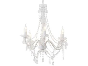Kare Kronleuchter, 6-flammig, transparent - transparent/klar - 70 cm - Möbel-Kraft