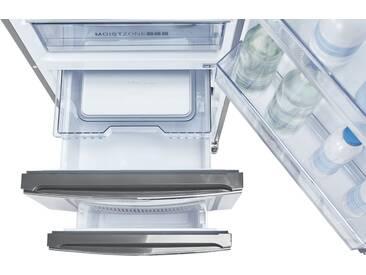 Haier Kühl-Gefrierkombination  A3FE735CMJ - silber - Metall-lackiert, Kunststoff, Glas - 60 cm - 190 cm - 67 cm - Möbel-Kraft