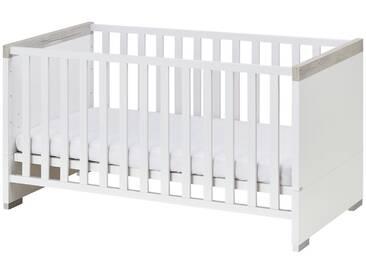 PAIDI Kinderbett  Kira - weiß - 77,8 cm - 78,9 cm - Möbel-Kraft