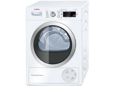 BOSCH Wärmepumpentrockner  WTW 875W0 - weiß - Glas , Edelstahl, Metall-lackiert - 59,8 cm - 84,2 cm - 59,9 cm - Möbel-Kraft