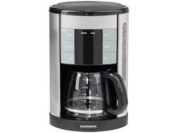 GASTROBACK Kaffeeautomat   42703 - silber - Metall, Glas , Kunststoff - 23,1 cm - 36 cm - 22,2 cm - Möbel-Kraft