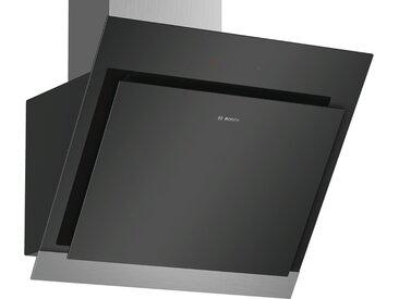 BOSCH Kopffrei-Haube  DWK 67HM60 - schwarz - Glas , Aluminium, Metall-lackiert - 59 cm - 37 cm - 49,9 cm - Möbel-Kraft