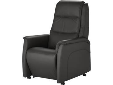 Hukla Fernsehsessel   Dean - schwarz - 70 cm - 109 cm - 88 cm - Möbel-Kraft