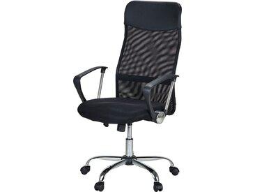 Bürodrehstuhl - schwarz - Möbel-Kraft