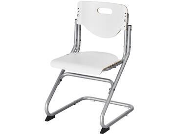 KETTLER Schülerschreibtischstuhl  Chair Plus - silber - 47 cm - Möbel-Kraft