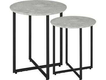 Beistelltische, 2er-Set - Möbel-Kraft