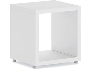 BOON 1x1 Regalwürfel | 38x40x33 cm (LxHxT) | weiß