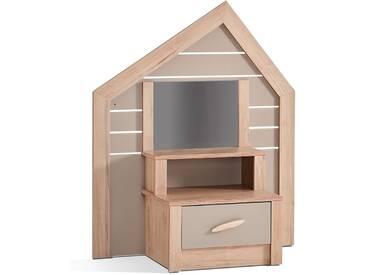 Kinderkommode Foresters Hut - klein mit Spiegel
