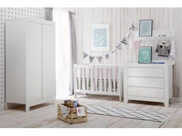 Babyzimmer komplett Set 3-teilig Kinderzimmer weiß Lemontree