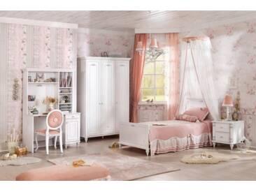 Kinderzimmer komplett Set 7-teilig weiß Barockstil Romantica