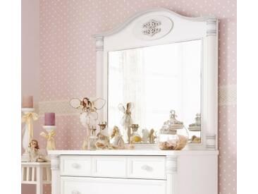 Kinderkommode mit Spiegel Kommode mit Schubladen Kinderschrank Weiß Romantic