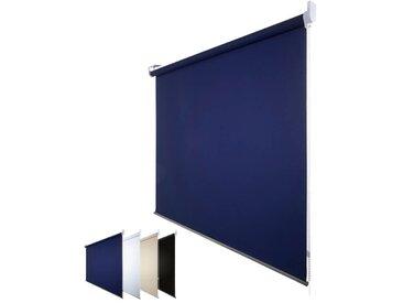 JalouCity Verdunkelungsrollo Standard in blau 180 x 180 cm