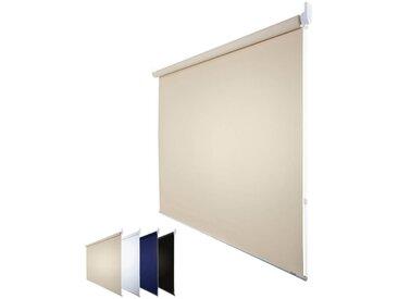 JalouCity Verdunkelungsrollo Standard in creme 130 x 230 cm
